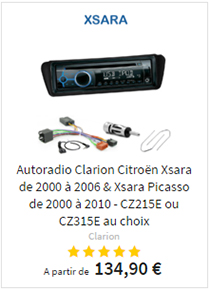 Autoradio usb mp3 Citroën Xsara