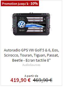Autoradio GPS Volkswagen