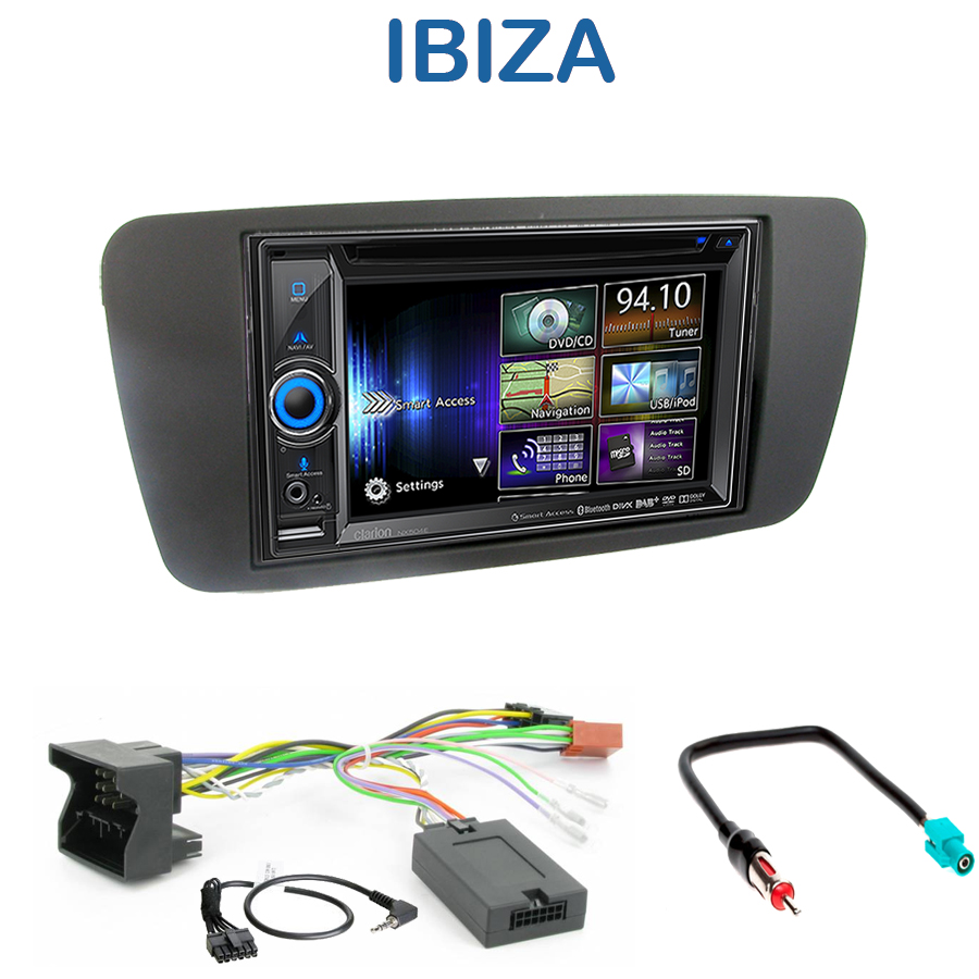 autoradio gps seat ibiza depuis 2008 avec cran tactile nx706e autoradios. Black Bedroom Furniture Sets. Home Design Ideas