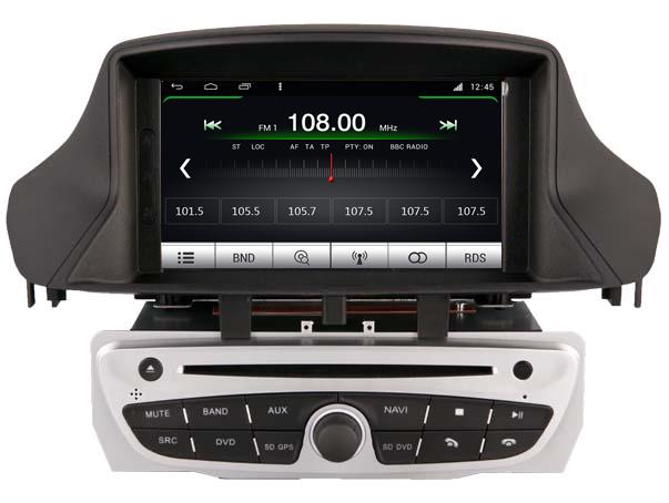 poste renault megane 3 autoradio gps dvd usb bluetooth streaming audio autoradios. Black Bedroom Furniture Sets. Home Design Ideas