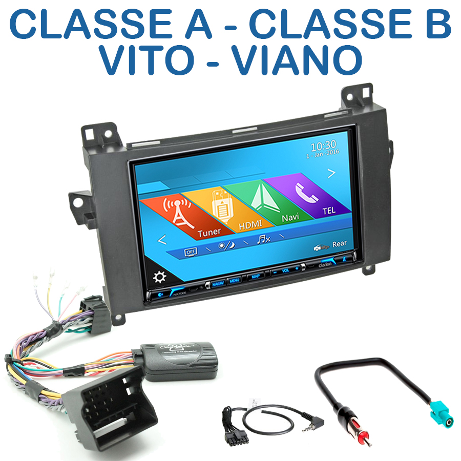 autoradio gps mercedes classe a b vito cran tactile dvd 6 2 autoradios. Black Bedroom Furniture Sets. Home Design Ideas