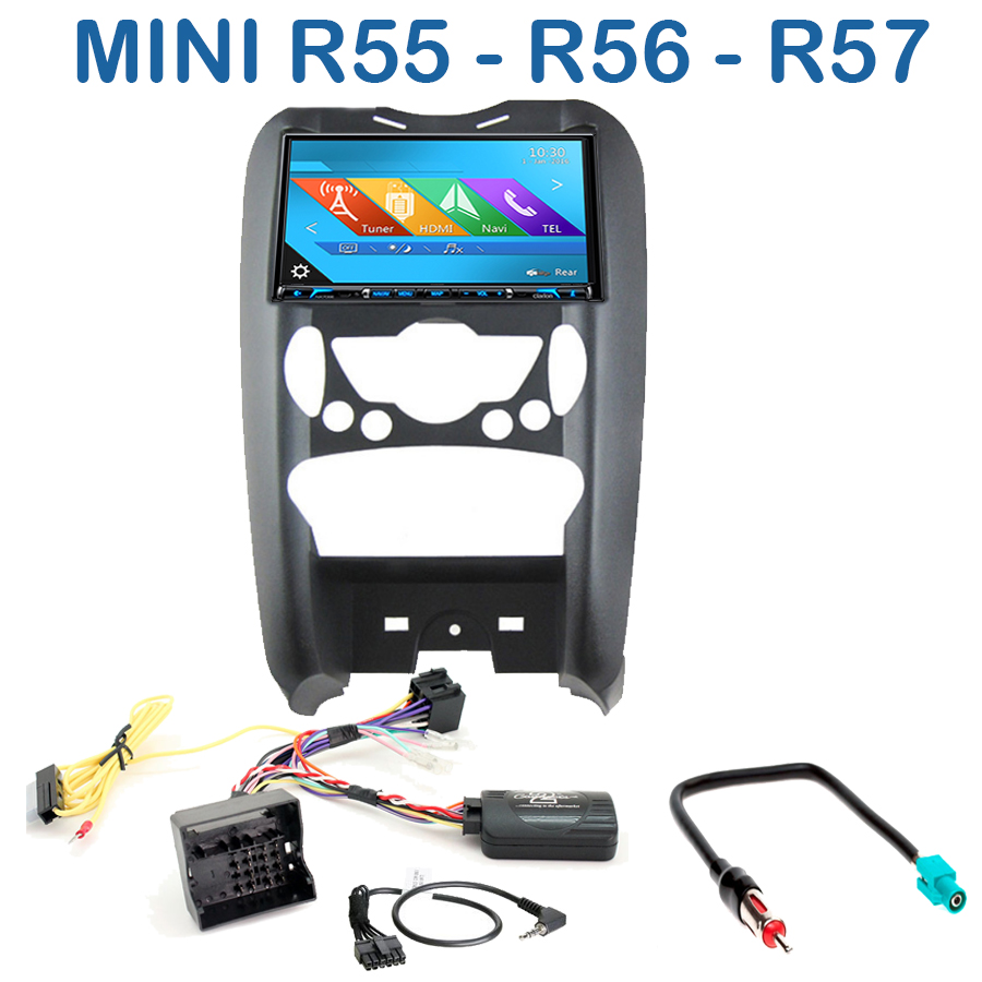 autoradio gps mini r56 cooper clubman countryman cran. Black Bedroom Furniture Sets. Home Design Ideas