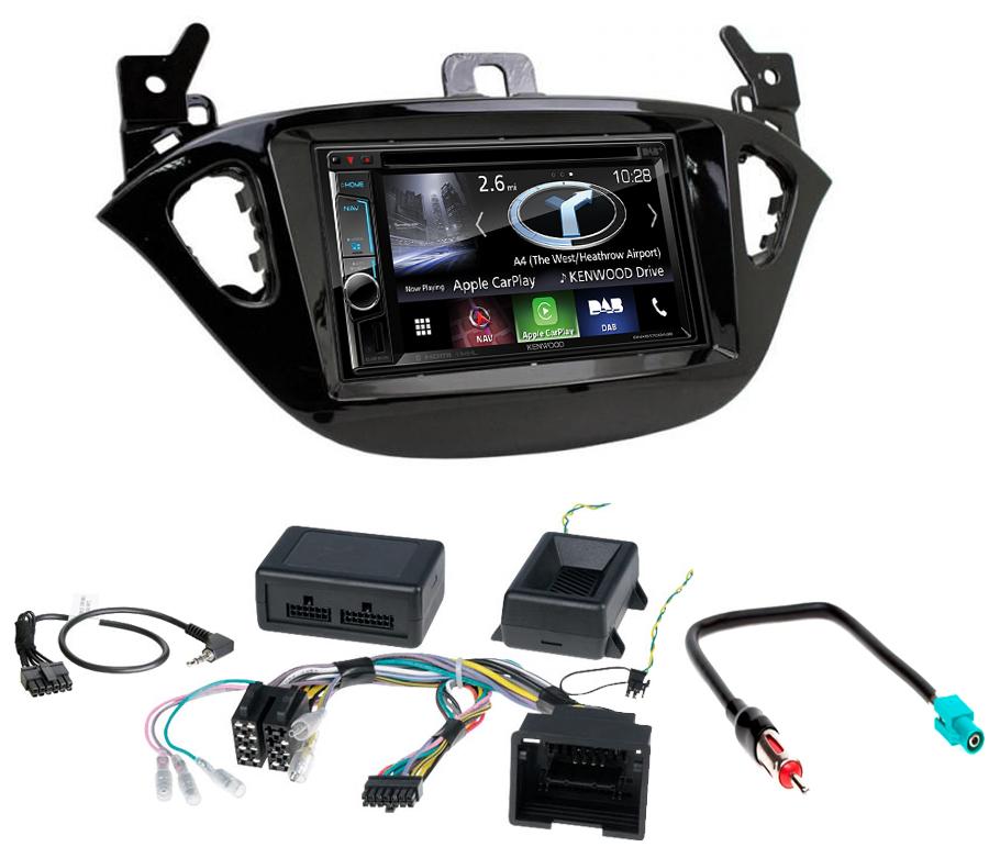 Autoradio écran tactile DVD GPS Opel Adam avec mains libres