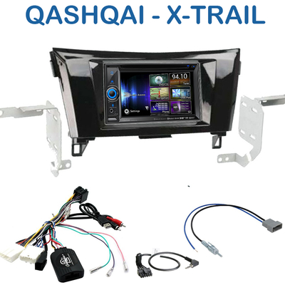 autoradio gps nissan qashqai x trail ecran tactile clarion gps autoradios. Black Bedroom Furniture Sets. Home Design Ideas