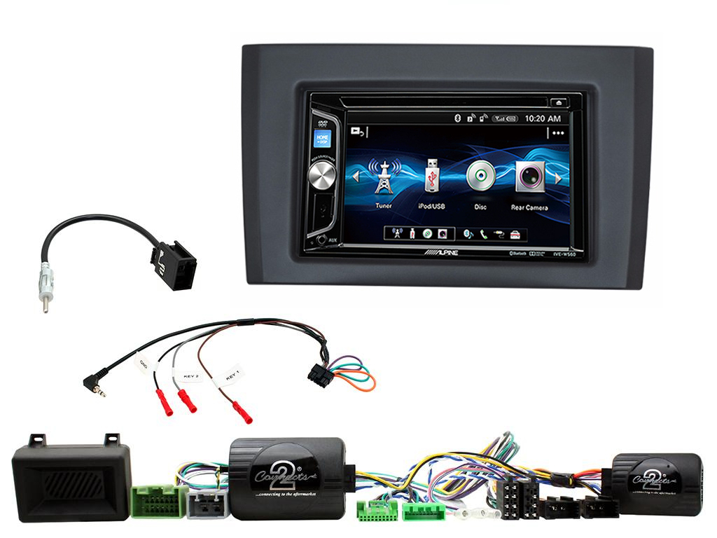 autoradio 2 din alpine volvo xc90 avec usb cd mp3 bluetooth autoradios. Black Bedroom Furniture Sets. Home Design Ideas