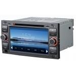 Autoradio GPS Ford Kuga, C-max, Mondeo, S-Max, Focus, Fiesta & Transit - façade  noire