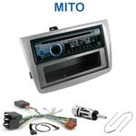 Poste 1-DIN CD/USB/Bluetooth Alfa Romeo Mito depuis 2008 - autoradio JVC et Kenwood au choix