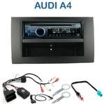 Autoradio Clarion Audi A4 (B6) de 2002 à 2006 & A4 (B7) de 2004 à 2006 (CD/USB/MP3/WMA) - CZ215E, FZ502E ou CZ315E au choix