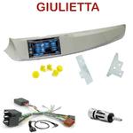 Autoradio 2-DIN Alpine Alfa Romeo Giulietta depuis 2010 - CDE-W296BT, IVE-W560BT, IVE-W585BT OU ICS-X8 AU CHOIX