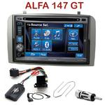 Autoradio 2-DIN Alpine Alfa Romeo 147 de 2000 à 2009 & GT depuis 2005 - CDE-W296BT, IVE-W560BT, IVE-W585BT OU ICS-X8 AU CHOIX