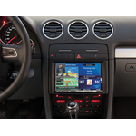 "Autoradio GPS Alpine 8"" X802D-U ou X800D-U - Audi A4 de 2001 à 2008 et Seat Exeo depuis 2009 - Kit d'intégration KIT-8A4D offert"