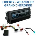 Autoradio Clarion Jeep Commander, Grand Cherokee, Liberty & Wrangler - CZ215E, FZ502E ou CZ315E au choix