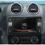 Autoradio GPS Alpine X800D-ML pour Mercedes Benz ML (W164) et GL (X164)