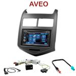Autoradio 2-DIN Alpine Chevrolet Aveo depuis 2011 - CDE-W296BT, IVE-W560BT, IVE-W585BT OU ICS-X8 AU CHOIX