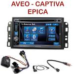 Autoradio 2-DIN Alpine Chevrolet Aveo de 2006 à 2010, Captiva depuis 2006 & Epica de 2006 à 2012 - CDE-W296BT, IVE-W560BT, IVE-W585BT OU ICS-X8 AU CHOIX