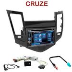 Autoradio 2-DIN Alpine Chevrolet Cruze depuis 2009 - CDE-W296BT, IVE-W560BT, IVE-W585BT OU ICS-X8 AU CHOIX