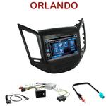 Autoradio 2-DIN Alpine Chevrolet Orlando depuis 2010 - CDE-W296BT, IVE-W560BT, IVE-W585BT OU ICS-X8 AU CHOIX