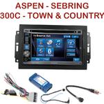Autoradio 2-DIN Alpine Chrysler 300C Town & Country Sebring Aspen - REJ d'origine - CDE-W296BT, IVE-W560BT, IVE-W585BT OU ICS-X8 AU CHOIX