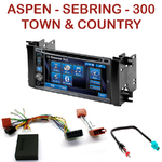 Autoradio 2-DIN Alpine Chrysler 300, Aspen, Sebring et Town & Country - CDE-W296BT, IVE-W560BT, IVE-W585BT OU ICS-X8 AU CHOIX