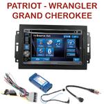 Autoradio 2-DIN Alpine Jeep Commander Compass Grand Cherokee Patriot Wrangler - CDE-W296BT, IVE-W560BT, IVE-W585BT OU ICS-X8 AU CHOIX