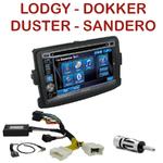 Autoradio 2-DIN Alpine Dacia Duster, Dokker, Lodgy & Sandero - CDE-W296BT, IVE-W560BT, IVE-W585BT OU ICS-X8 AU CHOIX