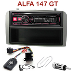 Autoradio Alpine Alfa Romeo 147 de 2000 à 2009 et GT depuis 2005 - UTE-72BT, UTE-92BT, CDE-173BT, CDE-190R, CDE-193BT ou CDE-195BT au choix