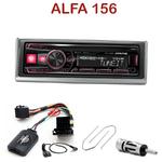 Autoradio Alpine Alfa Romeo 156 de 2001 à 2004 - UTE-72BT, UTE-92BT, CDE-173BT, CDE-190R, CDE-193BT ou CDE-195BT au choix