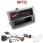 Autoradio Alpine Alfa Romeo Mito depuis 2008 - UTE-72BT, UTE-92BT, CDE-173BT, CDE-190R, CDE-193BT ou CDE-195BT au choix