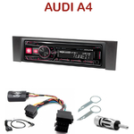 Autoradio Alpine Audi A4 (B6) de 2000 à 2006 - UTE-72BT, UTE-92BT, CDE-173BT, CDE-190R, CDE-193BT ou CDE-195BT au choix