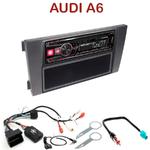 Autoradio Alpine Audi A6 de 2001 à 2005 - UTE-72BT, UTE-92BT, CDE-173BT, CDE-190R, CDE-193BT ou CDE-195BT au choix