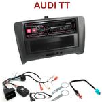 Autoradio Alpine Audi TT (8J) depuis 2006 - UTE-72BT, UTE-92BT, CDE-173BT, CDE-190R, CDE-193BT ou CDE-195BT au choix