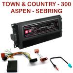 Autoradio Alpine Chrysler 300C, Sebring, Aspen, Town & Country - UTE-72BT, UTE-92BT, CDE-173BT, CDE-190R, CDE-193BT ou CDE-195BT au choix