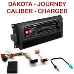 Autoradio Alpine Dodge Charger Dakota Journey Magnum Nitro - UTE-72BT, UTE-92BT, CDE-173BT, CDE-190R, CDE-193BT ou CDE-195BT au choix