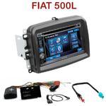 Autoradio 2-DIN Alpine Fiat 500L - CDE-W296BT, IVE-W560BT, IVE-W585BT OU ICS-X8 AU CHOIX
