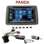 Autoradio 2-DIN Alpine Fiat Panda de 2003 à 2011 - CDE-W296BT, IVE-W560BT, IVE-W585BT OU ICS-X8 AU CHOIX