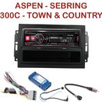 Autoradio Alpine Chrysler 300C Sebring Aspen Town & Country - UTE-72BT, UTE-92BT, CDE-173BT, CDE-190R, CDE-193BT ou CDE-195BT au choix
