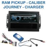 Poste 1-DIN CD/USB/Bluetooth Dodge Avenger Caliber Durango Grand Caravan Journey Magnum Nitro Ram Pickup (autoradio REJ d'origine) - autoradio JVC et Kenwood au choix