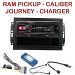 Autoradio Dodge Avenger Caliber Charger Durango Grand Caravan Journey Magnum Nitro Ram Pickup (autoradio REJ d'origine) - 7 modèles 1-din au choix