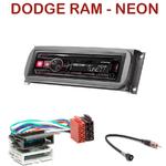 Autoradio Alpine Dodge RAM & Neon - UTE-72BT, UTE-92BT, CDE-173BT, CDE-190R, CDE-193BT ou CDE-195BT au choix