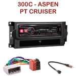Autoradio Alpine Chrysler PT Cruiser, 300C & Aspen - UTE-72BT, UTE-92BT, CDE-173BT, CDE-190R, CDE-193BT ou CDE-195BT au choix