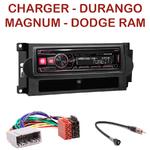 Autoradio Alpine Dodge Charger, Durango, Magnum & Ram - UTE-72BT, UTE-92BT, CDE-173BT, CDE-190R, CDE-193BT ou CDE-195BT au choix