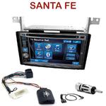 Autoradio 2-DIN Alpine Hyundai Santa Fe de 2007 à 2012 - CDE-W296BT, IVE-W560BT, IVE-W585BT OU ICS-X8 AU CHOIX