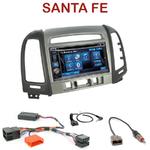 Autoradio 2-DIN Alpine Hyundai Santa Fe de 2007 à 2012 (3 boutons) - CDE-W296BT, IVE-W560BT, IVE-W585BT OU ICS-X8 AU CHOIX