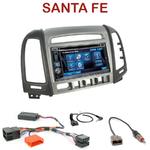 Autoradio 2-DIN Alpine Hyundai Santa Fe de 2007 à 2012 (4 boutons) - CDE-W296BT, IVE-W560BT, IVE-W585BT OU ICS-X8 AU CHOIX