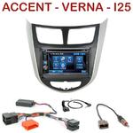 Autoradio 2-DIN Alpine Hyundai Accent depuis 2012 - CDE-W296BT, IVE-W560BT, IVE-W585BT OU ICS-X8 AU CHOIX