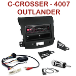 Autoradio Citroën C-Crosser Mitsubishi Outlander Peugeot 4007 - UTE-72BT, UTE-92BT, CDE-173BT, CDE-190R, CDE-193BT ou CDE-195BT au choix