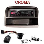 Autoradio Alpine Fiat Croma depuis 2005 - UTE-72BT, UTE-92BT, CDE-173BT, CDE-190R, CDE-193BT ou CDE-195BT au choix