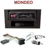 Autoradio Alpine Ford Mondeo de 06/2003 à 2007 - UTE-72BT, UTE-92BT, CDE-173BT, CDE-190R, CDE-193BT ou CDE-195BT au choix