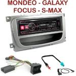 Autoradio Alpine Ford Mondeo, Focus, C-Max, S-Max & Galaxy - UTE-72BT, UTE-92BT, CDE-173BT, CDE-190R, CDE-193BT ou CDE-195BT au choix
