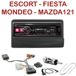 Autoradio Alpine Ford Escort Fiesta Mondeo Transit et Mazda 121 - UTE-72BT, UTE-92BT, CDE-173BT, CDE-190R, CDE-193BT ou CDE-195BT au choix